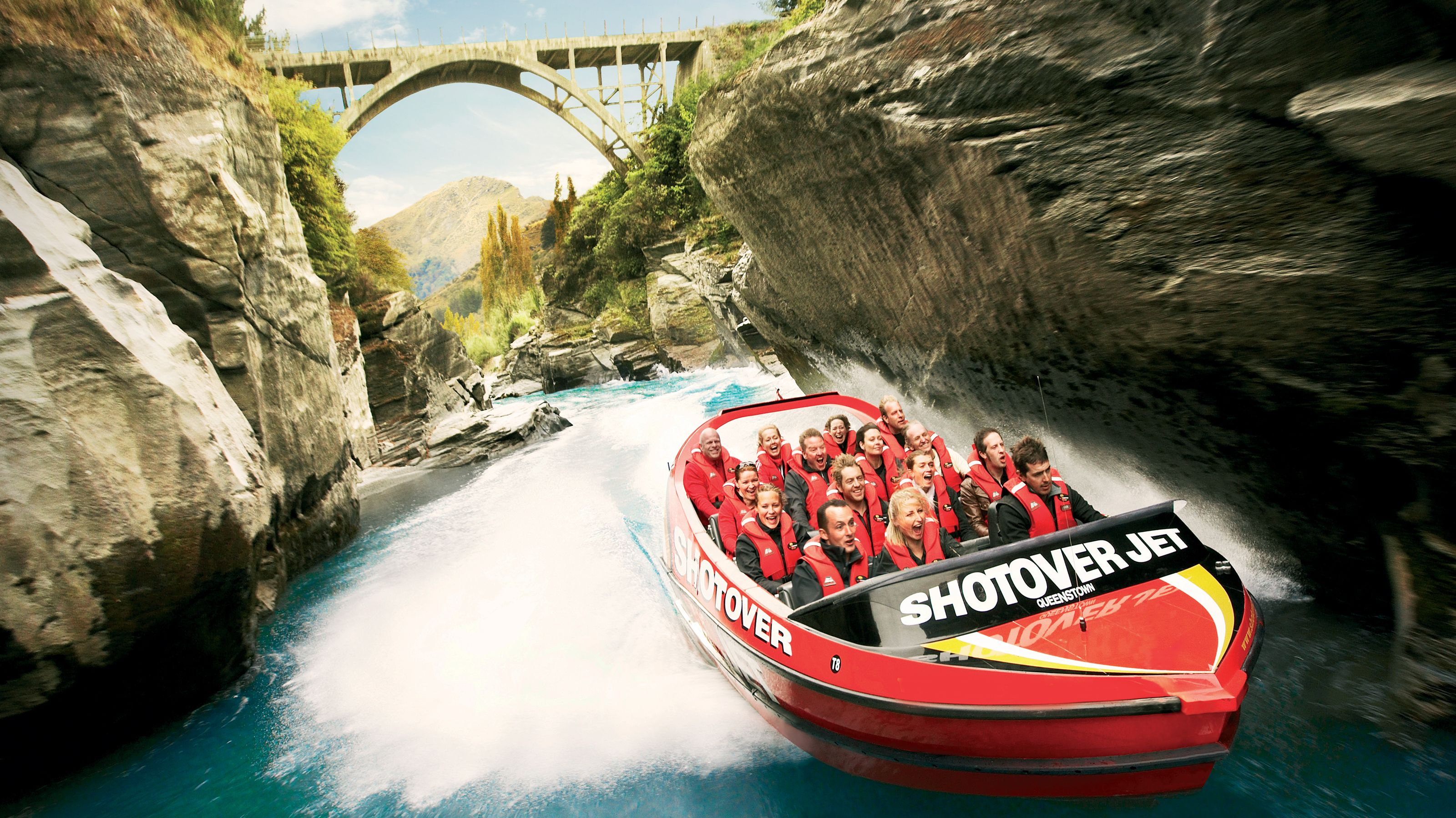 Shotover Canyon Swing, Jet Boat Ride, Helicopter Ride & River Rafting