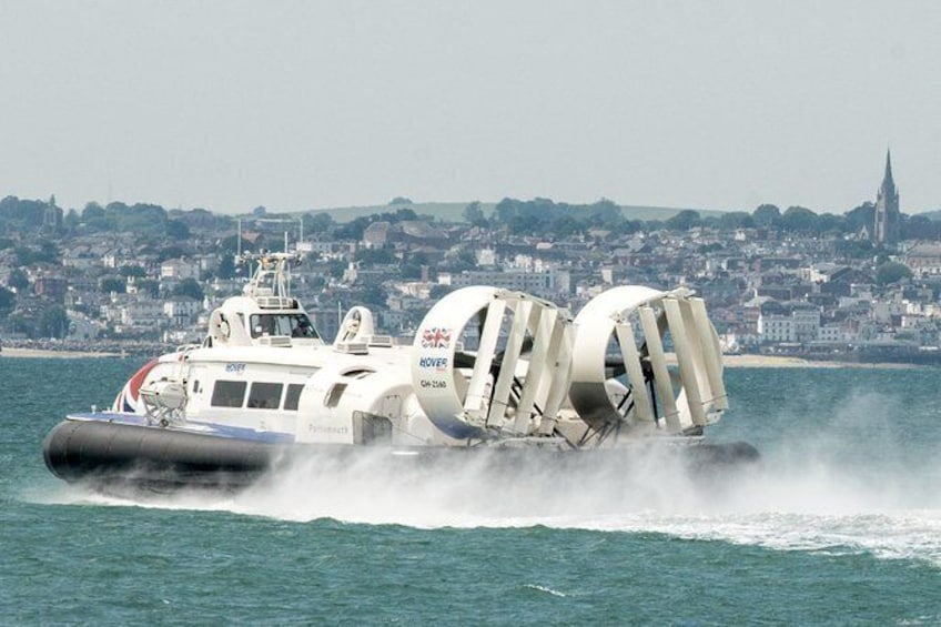 Show item 2 of 6. Hovercraft Flight to the Isle of Wight