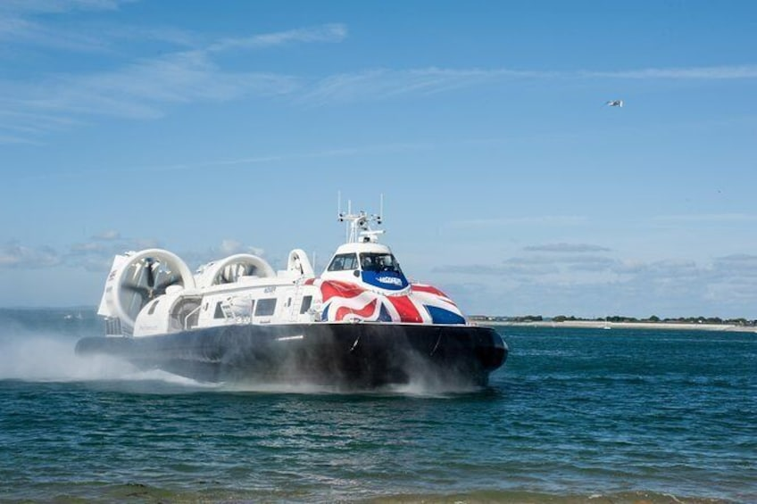 Show item 1 of 6. Hovercraft Flight to the Isle of Wight