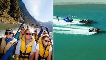 Mount Aspiring Helicopter & Jet Boat Trip Combo