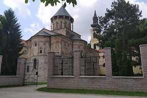 Tour of the MONASTERIES at Fruška Gora NP and Sremski Karlovci with wine ta...
