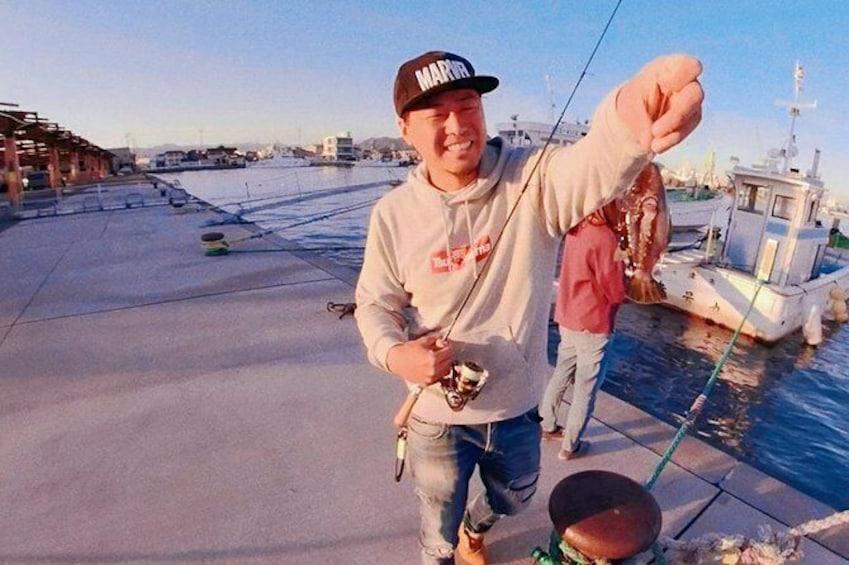 Show item 3 of 8. Japanese CountrySide Fishing Tour In Shizuoka
