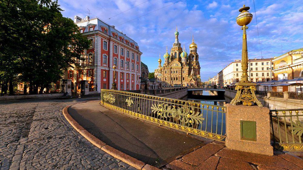 Rundgang mit Eintritt in das Russischen Museum und die Auferstehungskirche