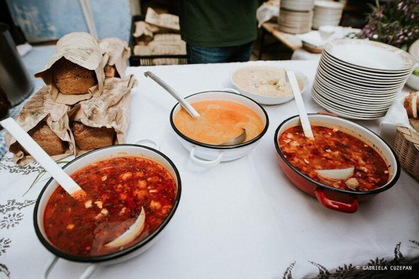 Cabbage, soups and Pálinka - CLUJ WALKING FOOD TOUR