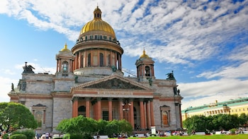 Visite privée complète de Saint-Pétersbourg avec déjeuner et entrées