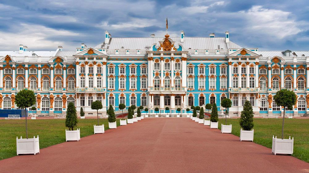 Catherine Palace & Pavlovsk Great Palace & Park Tour with Lunch