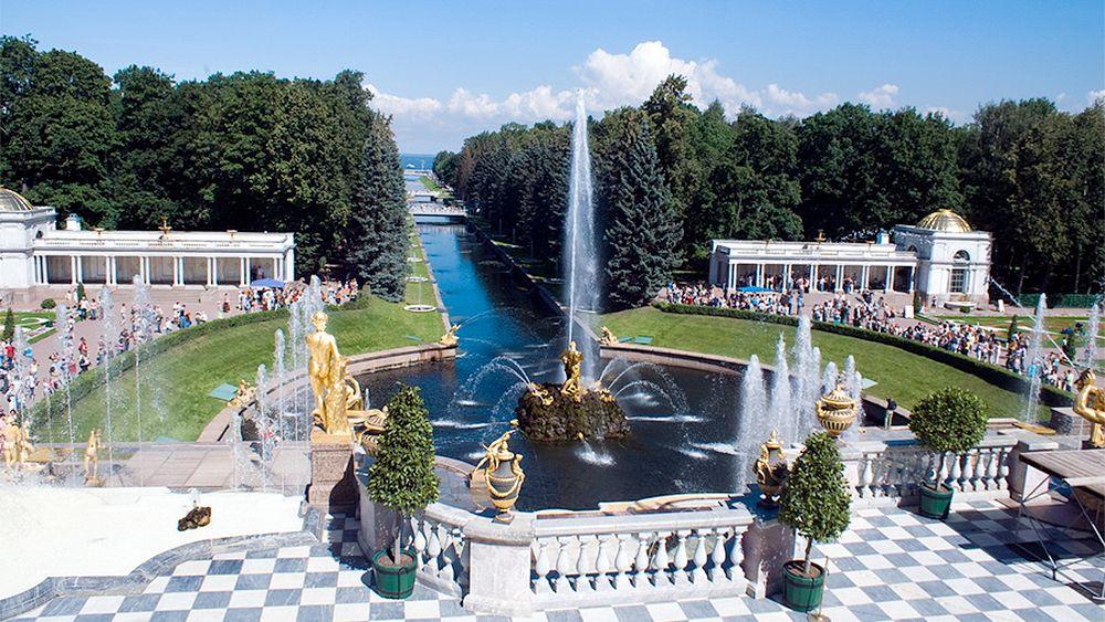 Visite guidée du palais de Peterhof et des jardins