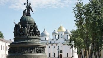 Ganztägige geführte Privattour durch Nowgorod ab St. Petersburg