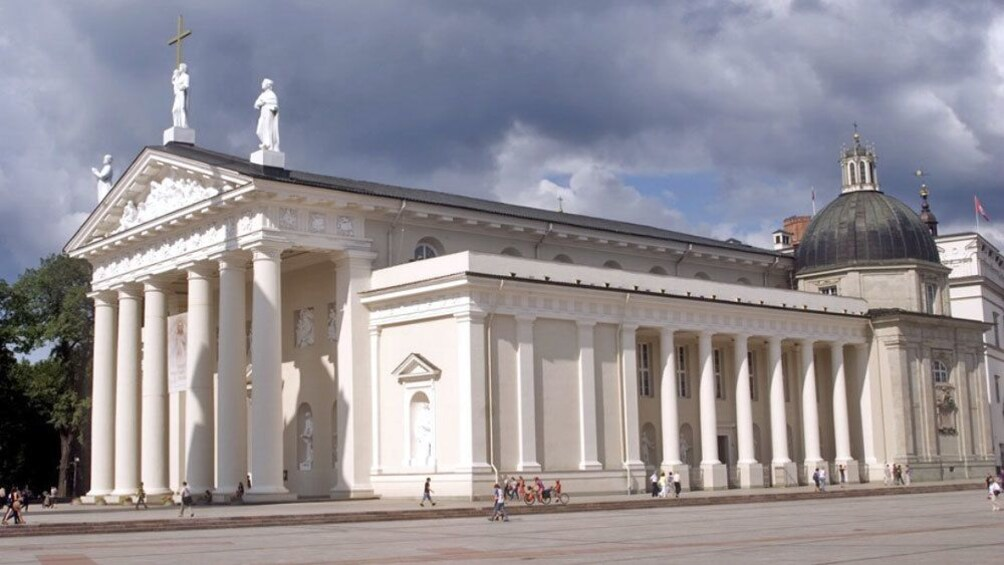 Show item 2 of 5. The Vilnius Cathedral in Lithuania