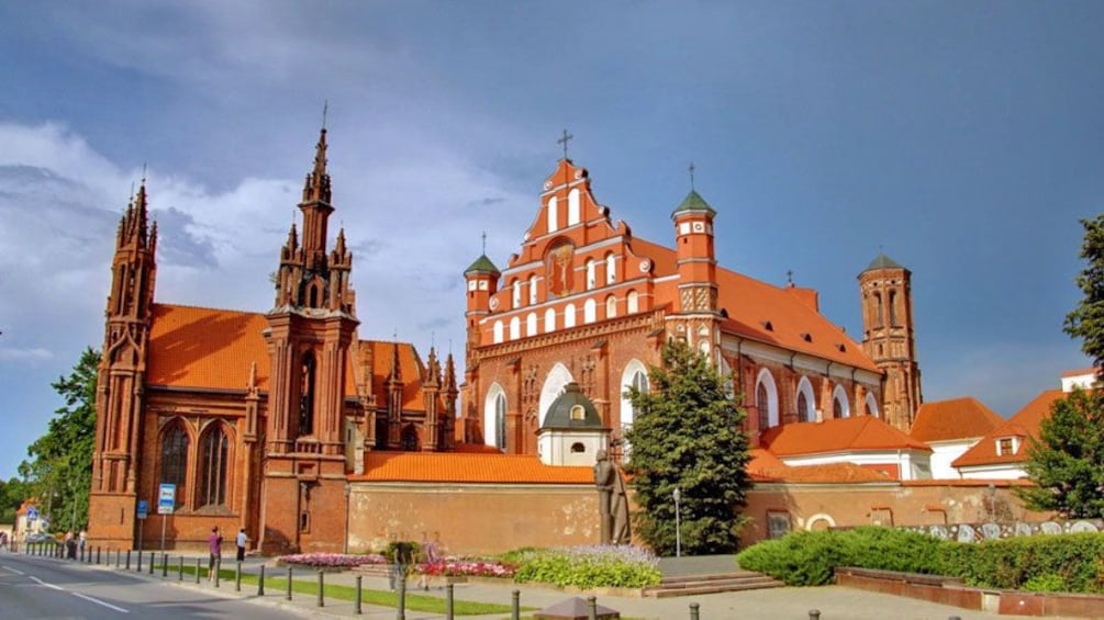 Show item 3 of 5. Visiting the Church of Saint Anne in Lithuania