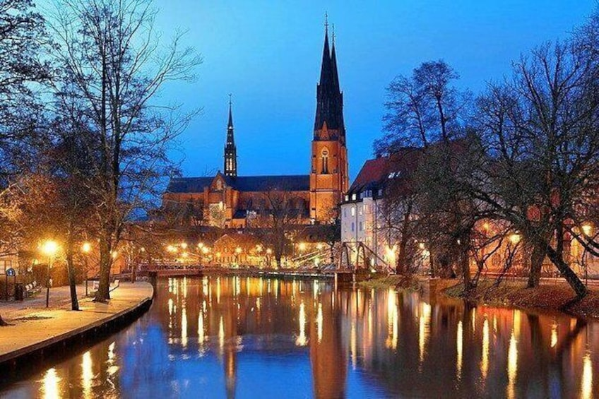 Show item 3 of 7. Uppsala Cathedral