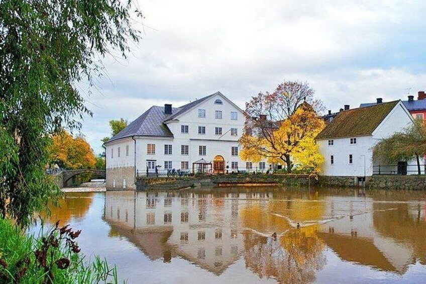 Show item 5 of 7. Uppsala Museum & River Fyris