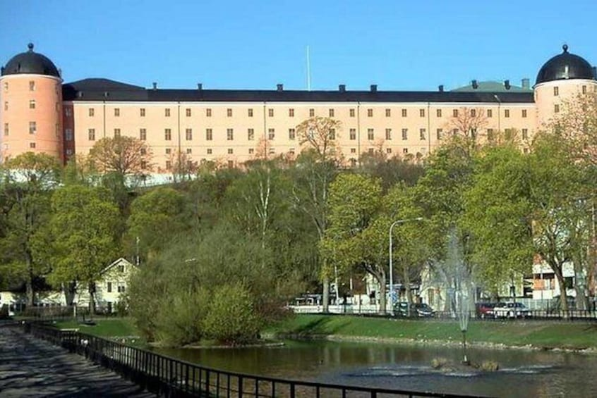 Show item 2 of 7. The Majestic Castle in Uppsala