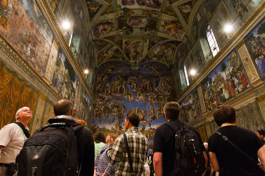 Show item 10 of 10. Rome In A Day Small-Group Tour with Skip-the-Line to Vatican & Colosseum