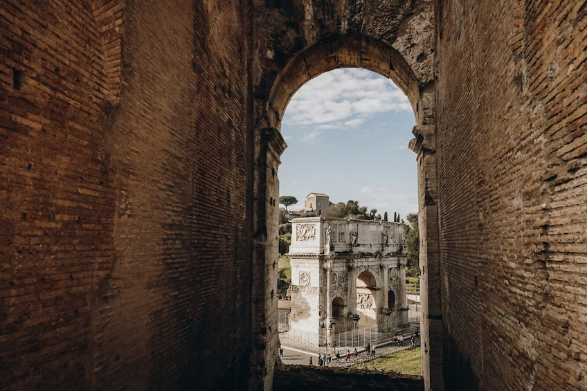Show item 3 of 9. Skip-the-Line: Small-Group Colosseum, Forum & Palatine Hill