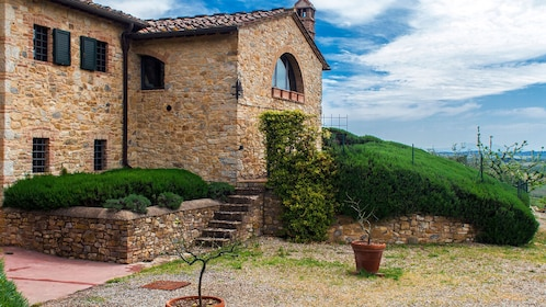 an old rustic stone house in Florence