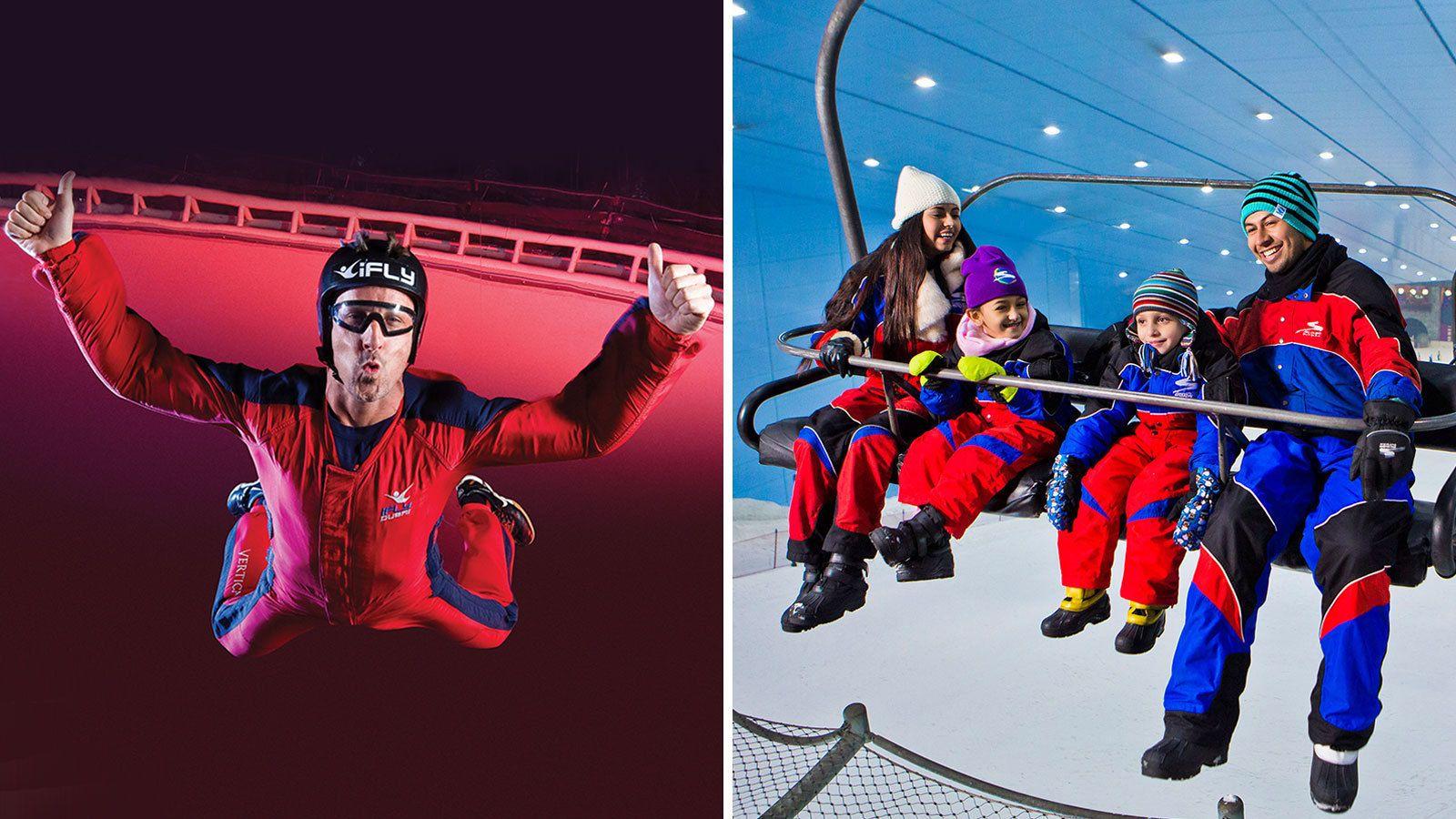 SkiFly Experience—Polar Pass & iFly Combo