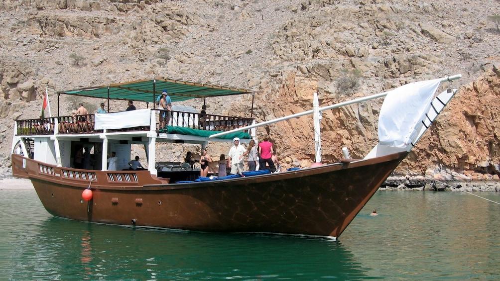 Arabian cruise boat