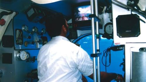 Captain of the Blue Safari Submarine