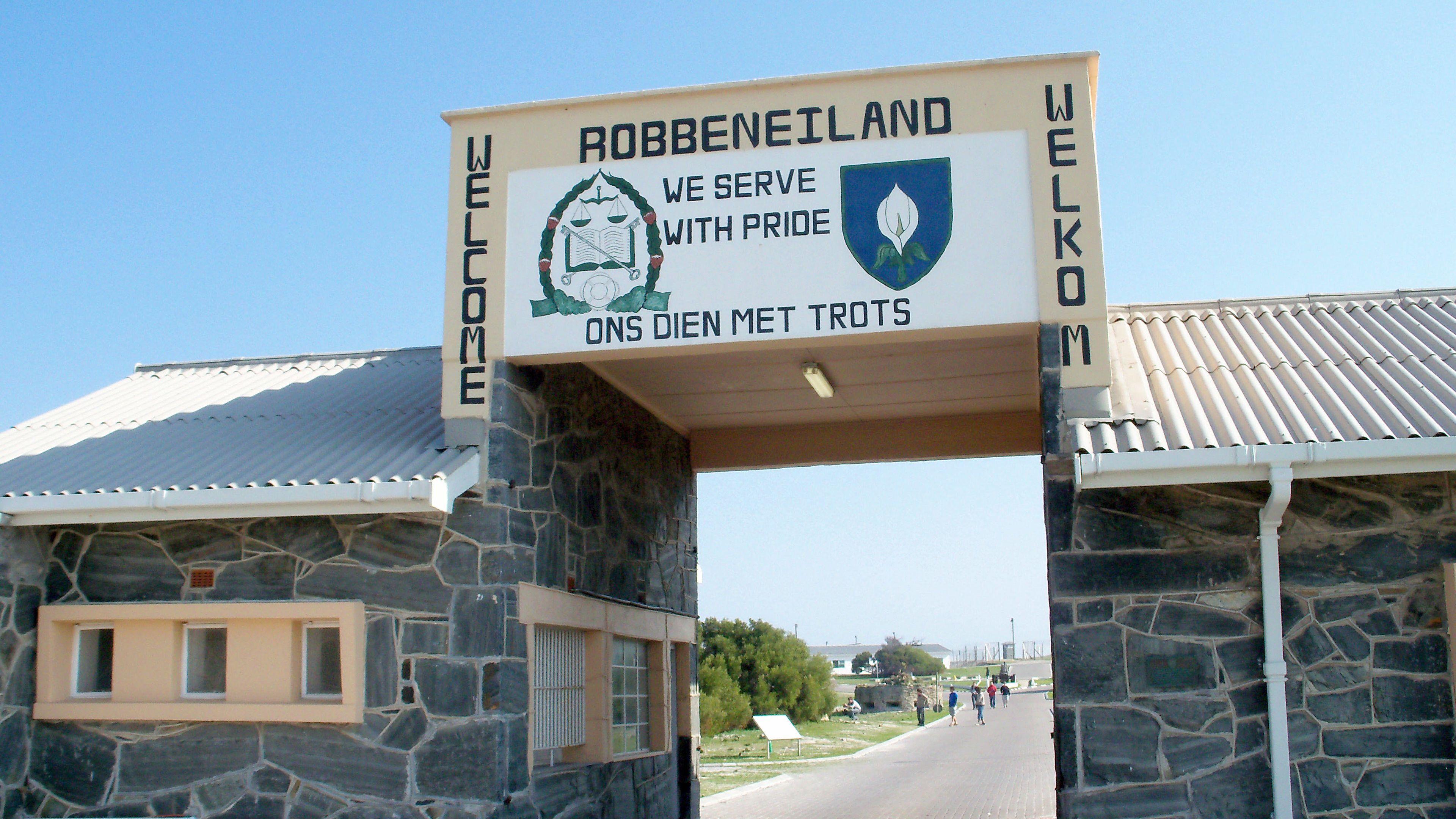 Robben Island, where Nelson Mandela was incarcerated