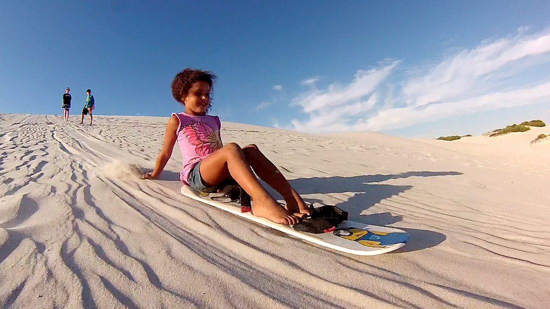 Ganztägige Sandboarding- und Quad-Tour