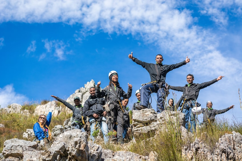 Show item 4 of 10. Cape Canopy Tour in the Hottentots Holland Nature Reserve