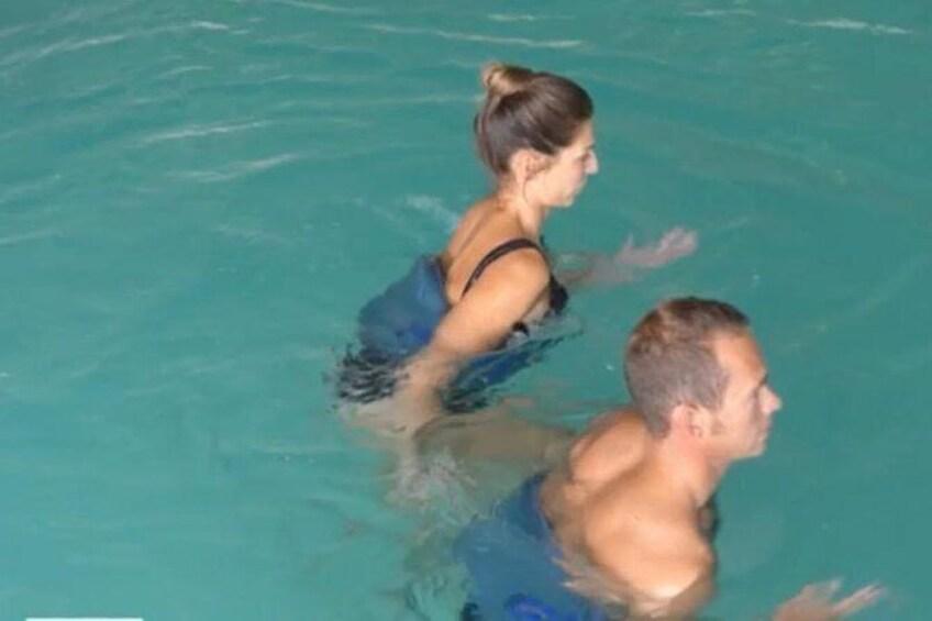 Show item 2 of 3. Aquajogging at sea