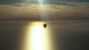 Passeio de balão ao pôr do sol em Del Mar San Diego