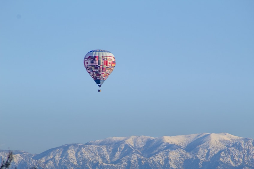 Show item 3 of 10. Sunset Hot Air Balloon Ride in Palm Desert by Palm Springs