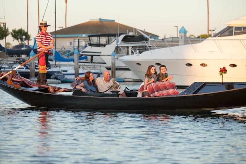 Show item 3 of 7. Gondola Cruise on Coronado Cays Waterways - Pasaporto Cruise