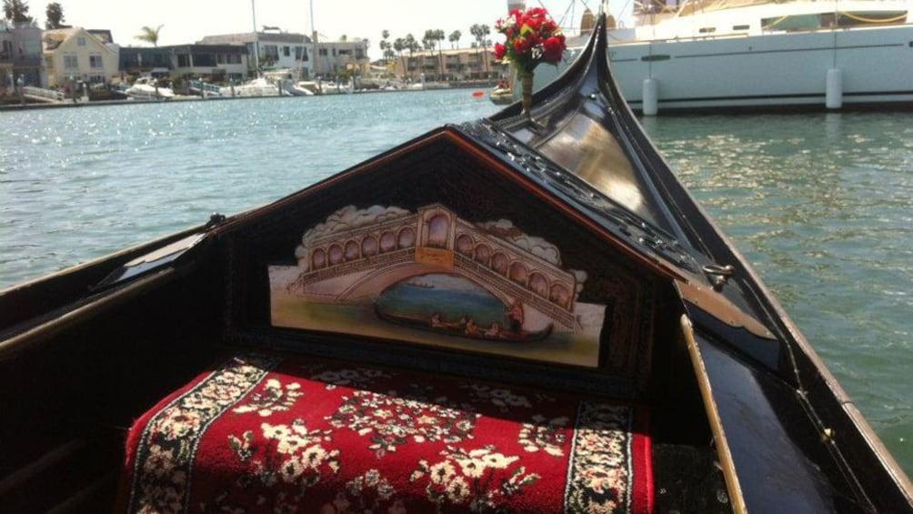 Show item 7 of 7. Gondola interior in San Diego