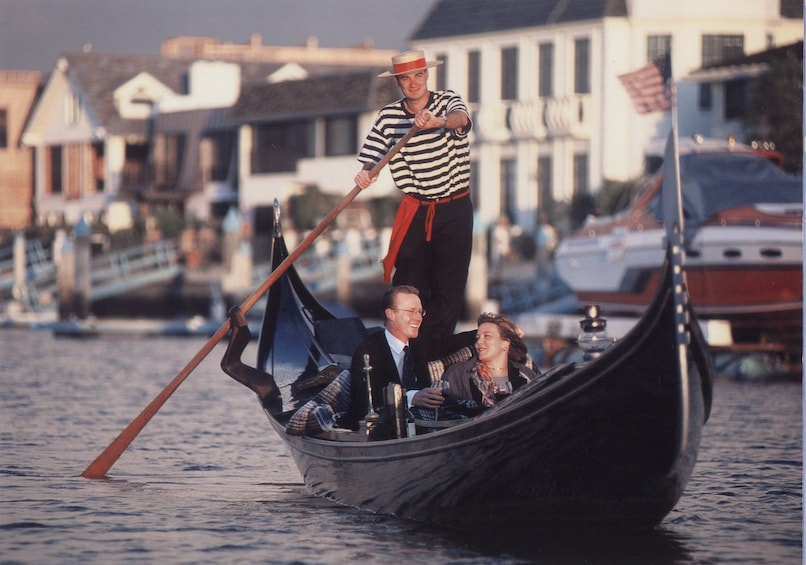 Show item 2 of 7. Gondola Cruise on Coronado Cays Waterways - Pasaporto Cruise