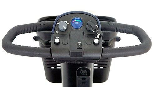 Controls of the scooter