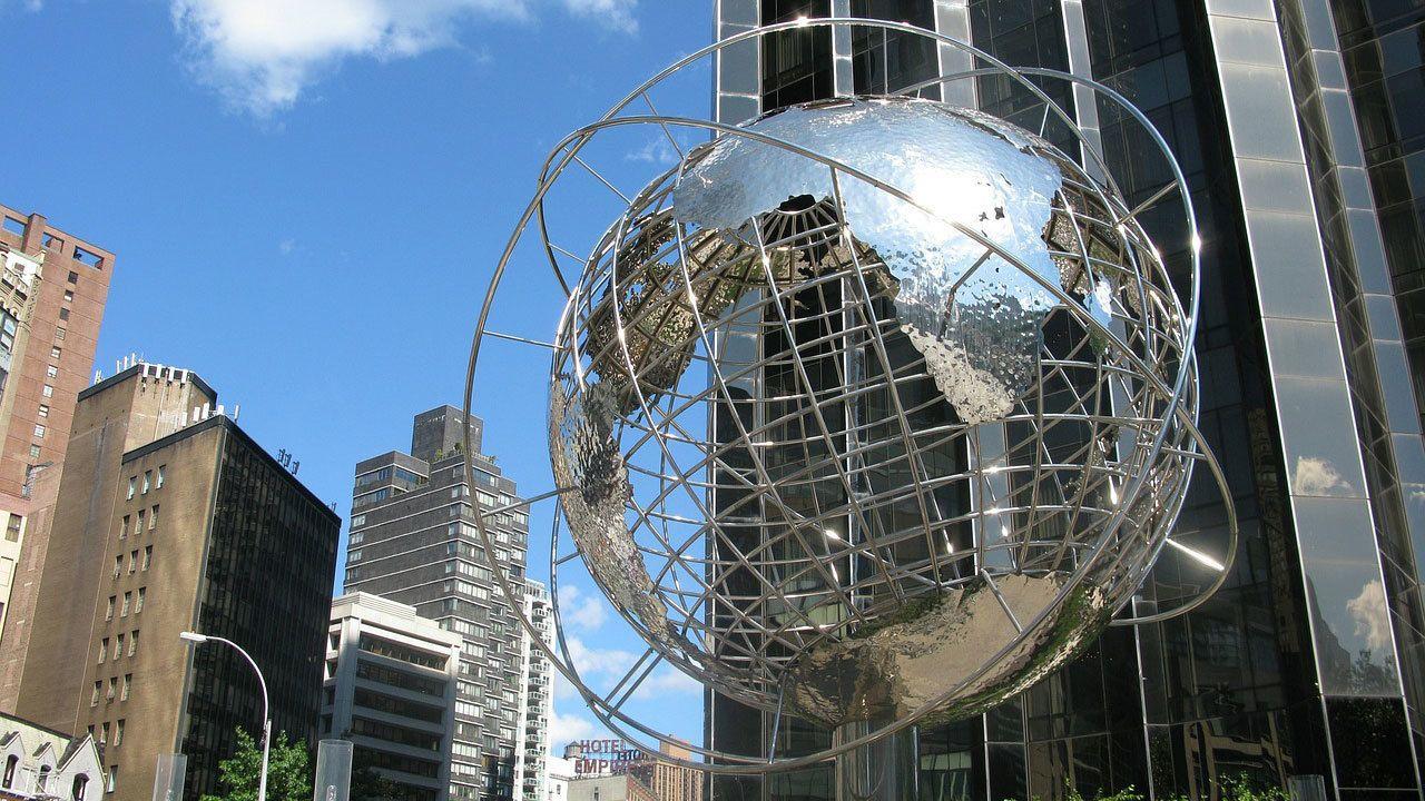 Unisphere Globe in New York