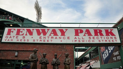 Entrance to Fenway Park, home of the Red Sox