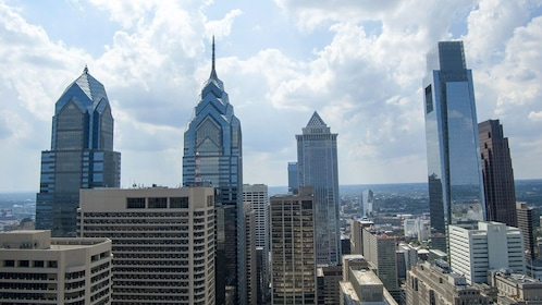 Philly's downtown skyline