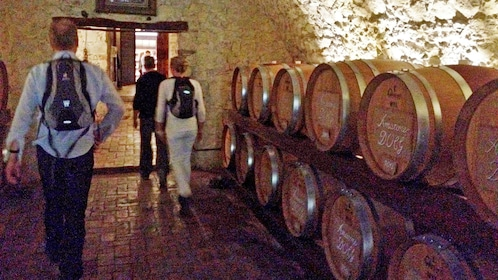 Tour inside the Amarone winery