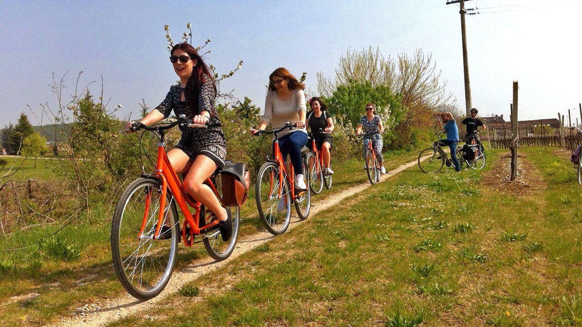 Halbtägige E-Bike-Tour mit Verkostung von Amarone