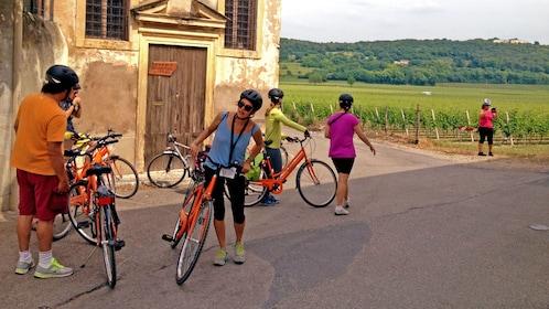 Explore the Amarone Winery on bike