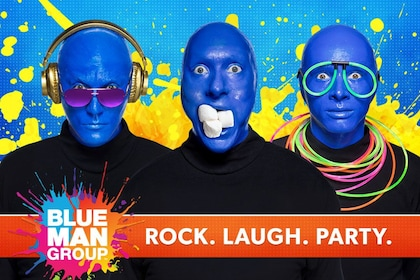 Blue Man Group promo image