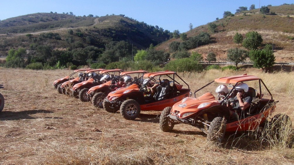Show item 2 of 5. Group of dune buggies in a field in Algarve