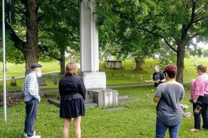 Show item 3 of 11. Tour of Historic Wesleyan Cemetery