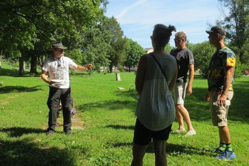 Show item 1 of 11. Tour of Historic Wesleyan Cemetery