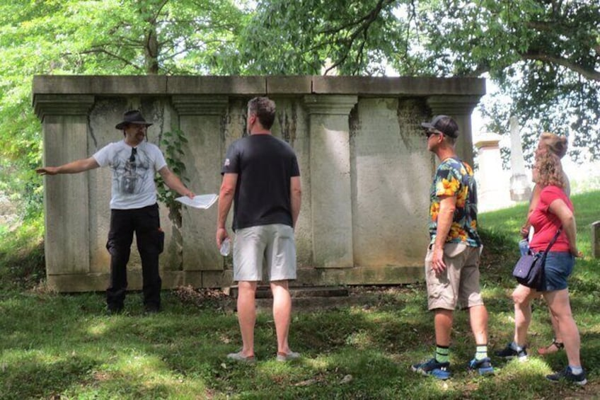 Show item 4 of 11. Learn about the history of grave robbing