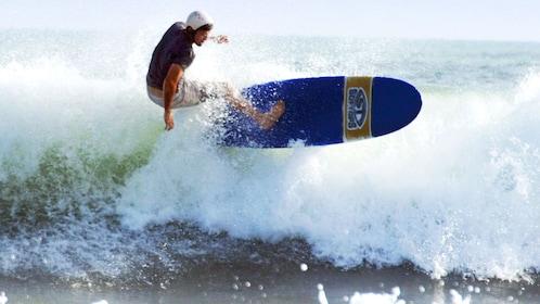 Man surfing in Kuta