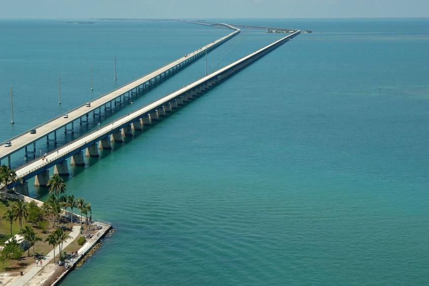 Show item 2 of 6. Seven Mile Bridge Self-Guided Driving Tour - Florida Keys