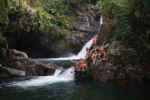 Natural pools tour, Jawakta and Sindigo Waterfalls