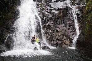 Waterfall Trail Estí river, Cangilones of Gualaca