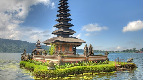 Tiny shrine island in Bali