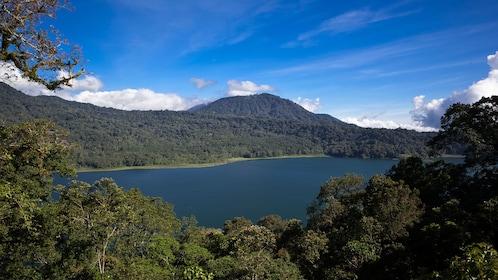 Mountainous landscape in Bali